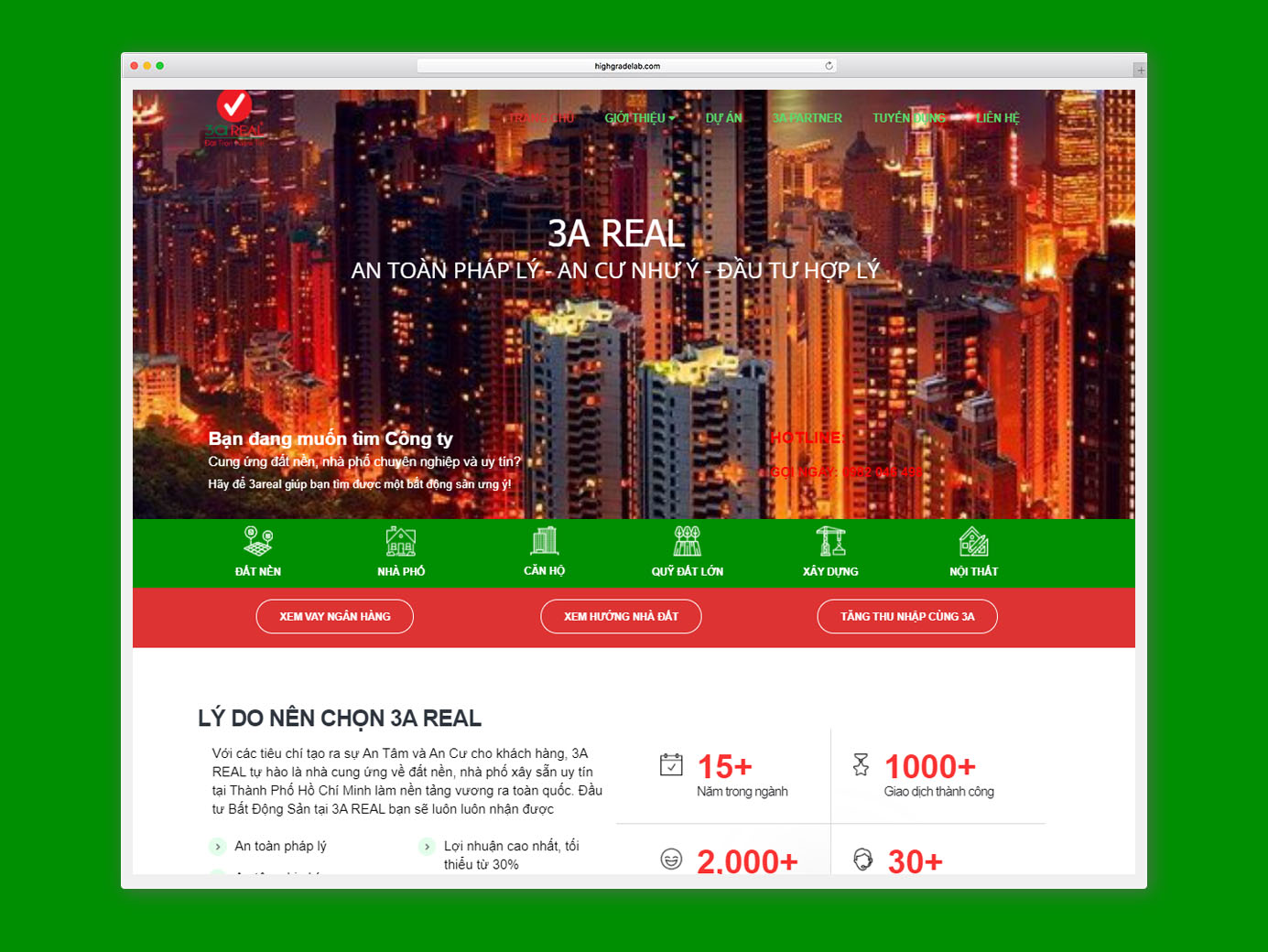 Website 3Areal